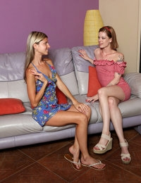 Sweet Loveseat featuring Gina Gerson & Lilien Ford by Als Photographer