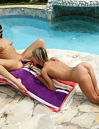 QUICK DIP with Gina Gerson, Tina Hot - ALS Scan photo #15